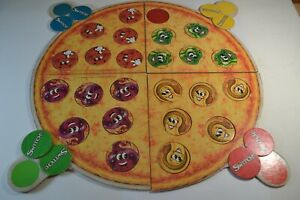 Pizza Party Board Game Parker Bros with Box Vintage 1987 2-4 Players Ages 4-8