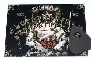 Wooden Annabel style Ouija Spirit Board game & Planchette EVP Magick ghost hunt