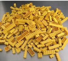 200 Lego Basis, Grundsteine, Basic, Bausteine, Farbe Gelb, City, KG,Konvout 9