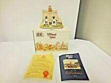1985 Lilliput Lane England Sculpture Figurine Clare Cottage-Deeds-OrgBox