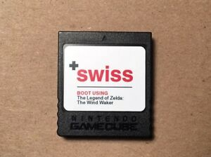 SWISS on Hacked Official Nintendo GameCube Memory Card — Games, GBI, Homebrew