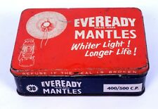 Indian Old Collectible Advertisement Box Of Eveready Lantern Mantles. i2-36 US