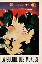 La guerre des mondes / H.G  WELLS // Fantastique // 1962