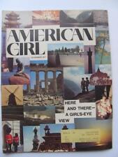 Vtg Nov 1971 American Girl Magazine Scouts International Iceland Japan Amsterdam