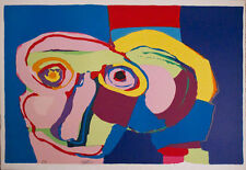Karel Appel (Dream Colored Head) Original Signed Art