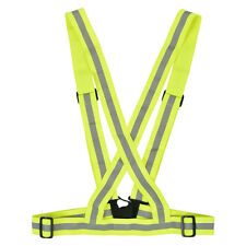 Visibility Safety Lightweight Reflective Vest Belt For Cycling Running Walking