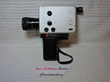 Braun Nizo 481 Super 8 Schmalfilmkamera mit Schneider-Kreuznach 1,8/8-48mm