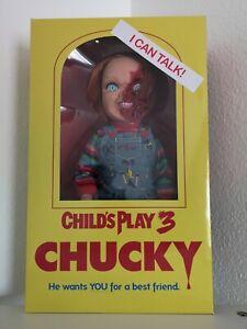 Chucky die Mörderpuppe Pizza Face mit Sound Puppe Mezco 38 cm Neuware OVP