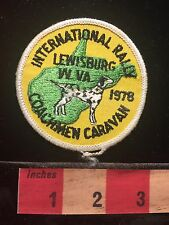 International Rally Coachman Caravan Lewisburg West Virginia Patch RV Camp S60B
