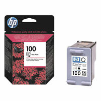 GENUINE ORIGINAL HP 100 PHOTO GREY CARTRIDGE C9368AE 2 YR GUARANTEE FAST POSTAGE