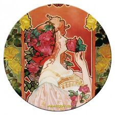 Espejo De Bolsillo Espejo, Livemont, Parfumerie Rosa