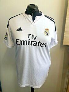 Real Madrid Football Shirt 15/16 #7 Cristiano Ronaldo Adidas KIDS Size M