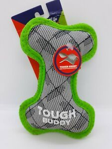 """NEW Vibrant Life Tough Buddy 6.5"""" Dog Chew Toy Chew Level 4 Moderate to Heavy"""