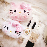 hello kitty lovely Makeup Bag Cosmetic Case Storage Handle Organizer Travel