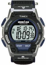 "Timex Men's T5K198 ""Ironman Triathlon"" 30-Lap Nylon Watch, Shock, Indiglo, Alarm"