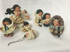 Lot of Friends of the Feather Figures And Ornament Native American