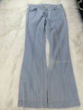 CAbi Jeans Light Wash Front Seam Women's Pants Size 8 Style #365