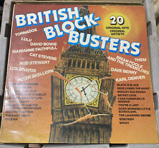 BULK ARTISTS BRITISH BLOCK BUSTERS VINYL LP 1980 ORIG AUSTRALIAN PRESS END 014