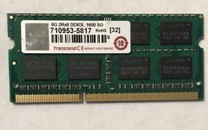 Transcend 8GB DDR3L 1600 SO-DIMM CL11 2Rx8