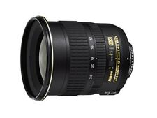 Nikon super wide-angle zoom lens 12-24mm f/4 G IF-ED Nikon DX format F/S