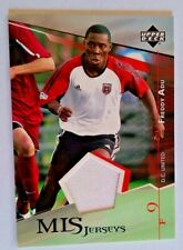 2004 Upper Deck MLS Game Worn Insert - Freddy Adu
