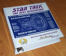Star Trek TNG 600+ Pages Tech Memos in Custom Binder