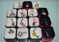 NEW IN BOX Juicy Couture Bracelet Charm - Pick Your Favorite Charms  ** HOT **