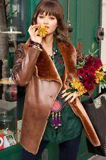 PROMOTION !!! MANTEAU VESTE FEMME DESIGUAL BETY NEUF COGNAC TAILLE 42