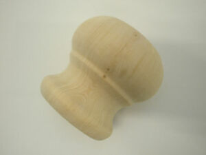 Pine Wood, Furniture Bun Feet 63 mm Dia (SMALL )