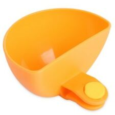 Creative Multipurpose Clamp Seasoning Dish  -  SWEET ORANGE