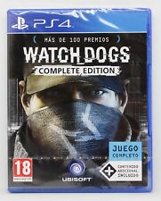WATCH DOGS COMPLETE EDITION - PLAYSTATION 4 PS4 PLAY STATION - PAL ESPAÑA NUEVO