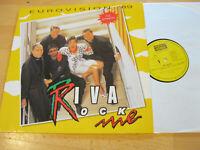 LP Riva Rock Me Eurovision 89 Vinyl Koch Records 122 247