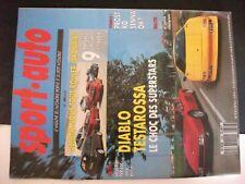 **a Revue Sport Auto n°346 San Remo / VW Polo G40 / Mazda 323 GTX 4x4 Turbo