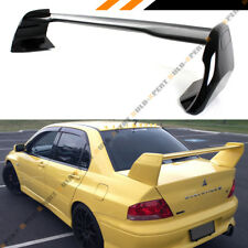 For 02-07 Mitsubishi Lancer Evo 7 8 9 Glossy Blk Trunk Spoiler Wing- EVO 7 Style