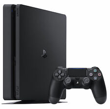 PlayStation 4 Slim 500GB Konsole - Schwarz (CUH-2016A)