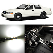 Alla Lighting 4x Interior Map Dome Lights 194 LED Bulbs for Ford Crown Victoria