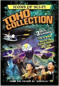 Icons of Sci-Fi: Toho Collection (3 x DVD): H-Man, Mothra, Battle in Outer Space