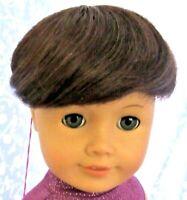 Monique BOB Dk Brown Doll Wig Round Cap Size 11-12 Boy, Girl, Baby Toddler, Etc