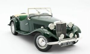 CULT MODELS MG TD GREEN 1953 1-18 SCALE CML094-1