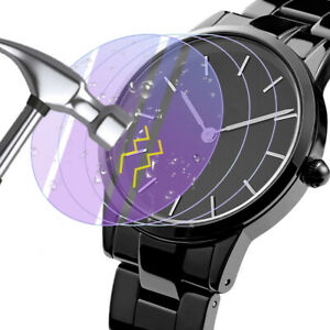 30.5-42mm Screen Protector For DW Watch Tempered Glass Anti-Scratch Clear Film