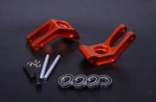 Alloy rear hub carrier set orange Fit 1/5 HPI Baja 5B 5T 5SC