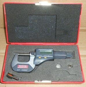 "SPI 0-1"" micrometer .00005"""