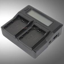 LCD-Display Battery AC Charger for Nikon EN-EL3e MH18 MH18a D50 D70 D70s D80 D90