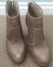 Nero Giardini Ladies Leather Ankle Boots Size 4/37