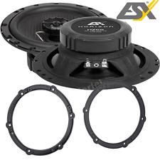 ESX 165mm Lautsprecher SET für Citroen Citrön C1 2005-2014 Türen Front