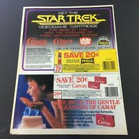 VTG Retro 1984 Pringle's Potato Chips & Camay Beauty Soap Print Ad Coupon