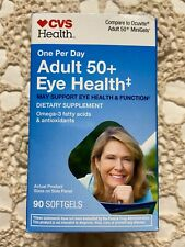Cvs Adult 50+ Eye Health 90  Sogtgels Expire 07/21