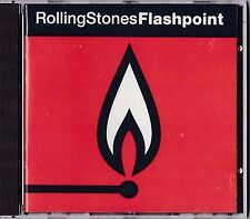 Flashpoint by Rolling Stones CD 1991 Sony Live 1989-90 Steel Wheels/Urban Jungle