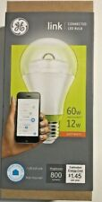 GE Link A19 LED BULB 60W / 12W (Wink Amazon Echo Smart Things) Smart Home