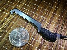 "1:6 Scale ""Zombie Survival Tool C"" Knife Custom Crafted Steel Miniature By Auret"